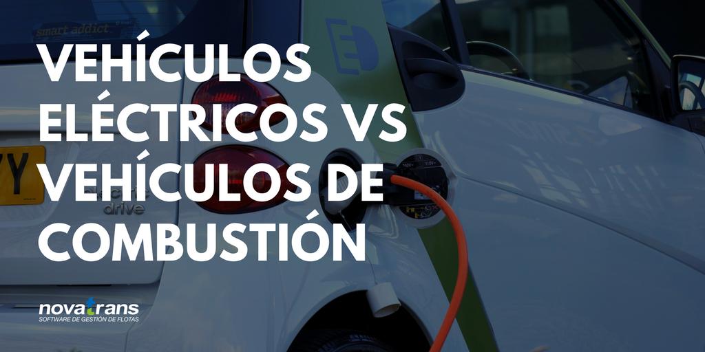 vehículos eléctricos vs vehículos combustión