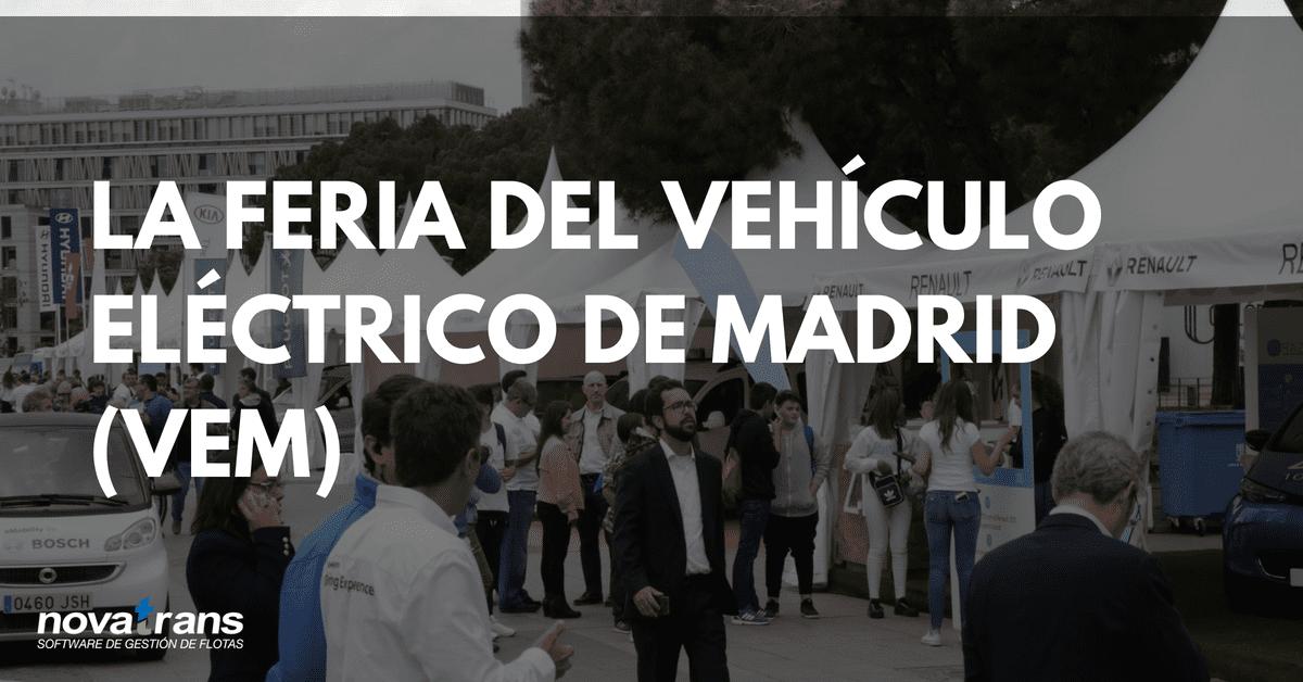 feria vehículo eléctrico Madrid