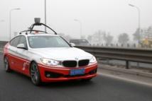 Coche autónomo de BMW. Fuente: BMW.